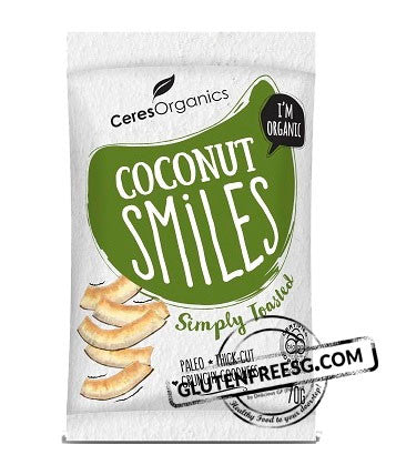 Ceres Organic Coconut Smiles - Simply Toasted
