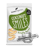 Ceres Organic Coconut Smiles - Simply Toasted - Gluten Free SG  - 1