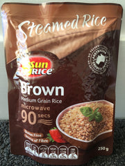 Sunrice Steamed Brown Rice