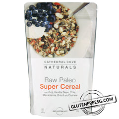 Cathedral Cove Raw Paleo Super Cereal with Goji & Vanilla