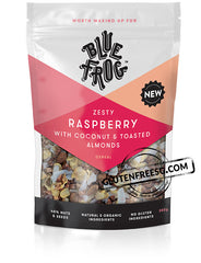 Blue Frog Raspberry With Coconut & Toasted Almonds Cereal