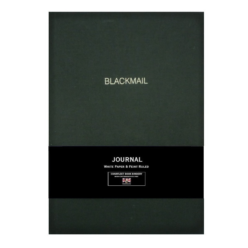 NB86LIN A5 THEMED SLOGANS LINEN NOTEBOOK