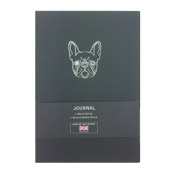 French Bulldog Charfleet Book Bindery NB86FBD