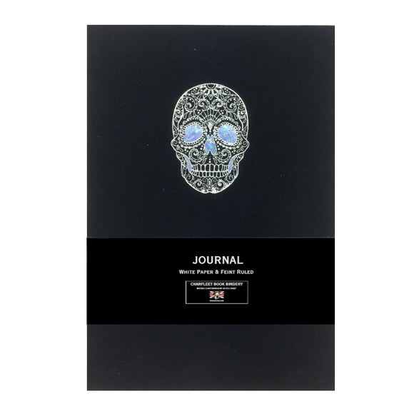 A5 Skull Notebooks Charfleet Book Bindery NB86SKL