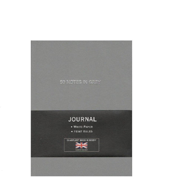 A6 THEMED SLOGANS LINEN NOTEBOOK - (NB64LIN)