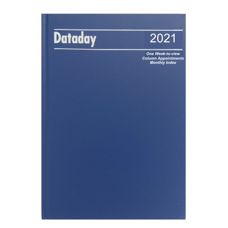 essential A4 Diary with Appointments Dataday A43CIA