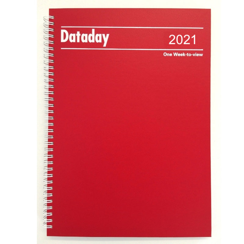 Essential A4 Desk Diary Dataday A43SP