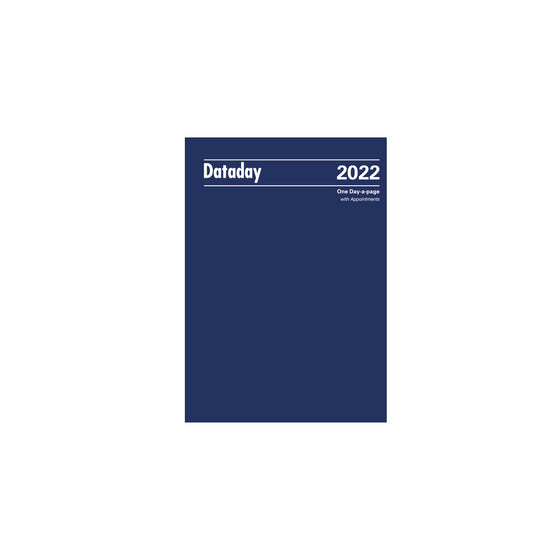 A51A Essential A5 Day-a-page with Appointments 2022 (PRE-ORDER)
