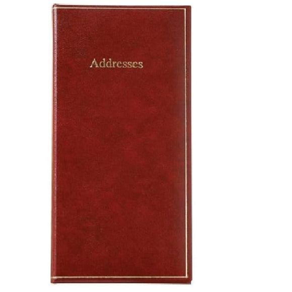 AB63S Mundior Slim Address Book