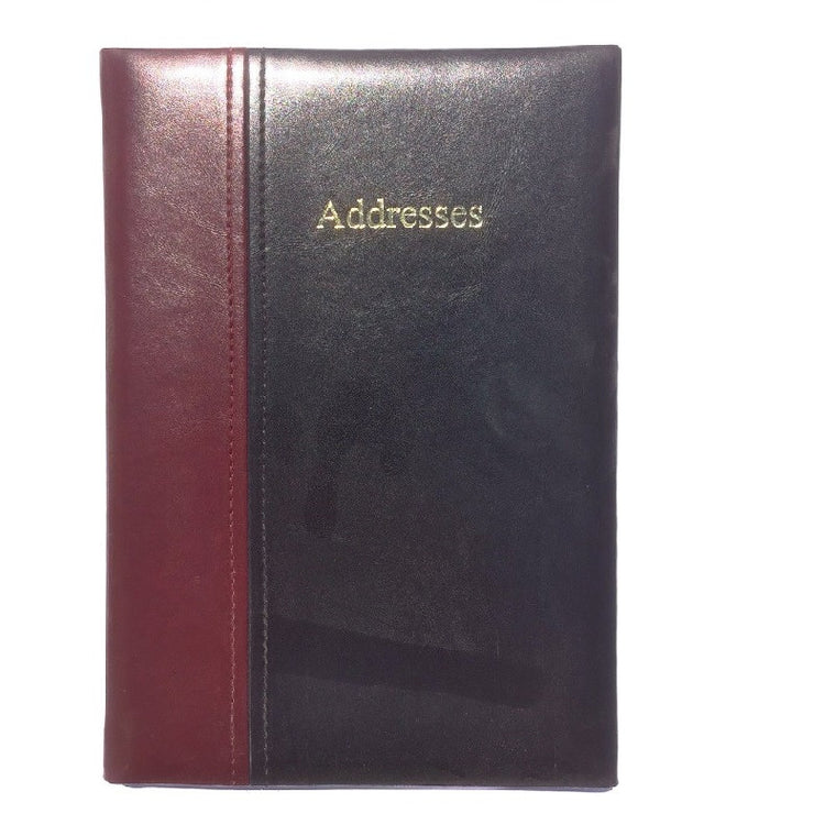 ELEGANZA ADDRESS BOOK (AB86K-TWO COLOUR)