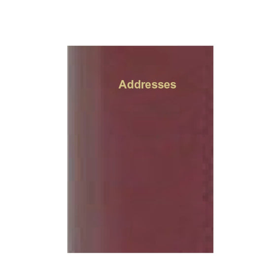 ELEGANZA ADDRESS BOOK AB86K