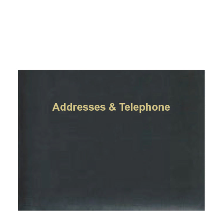 ELEGANZA ADDRESS BOOK (AT68K-SINGLE COLOUR) - SOLD OUT