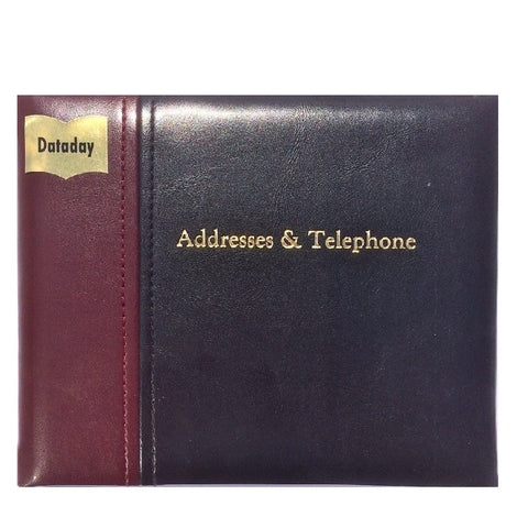 ELEGANZA ADDRESS BOOK (AT56K-TWO COLOUR)
