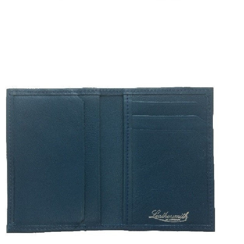 Smooth Credit Card Wallet Blue