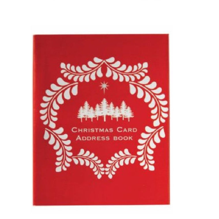 CC54PIC CHRISTMAS CARD ADDRESS BOOK