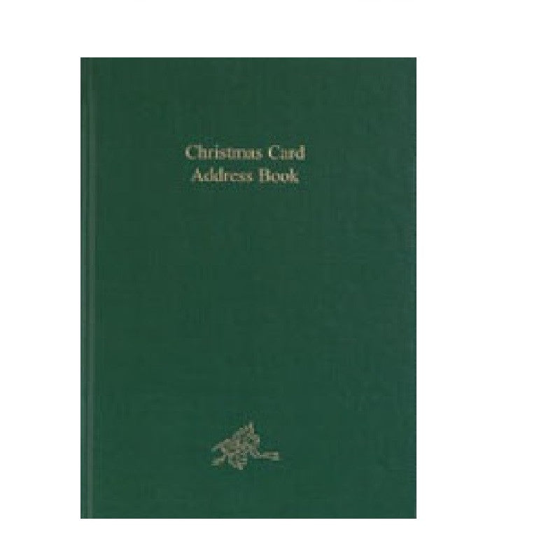 CC54B CHRISTMAS CARD ADDRESS BOOK