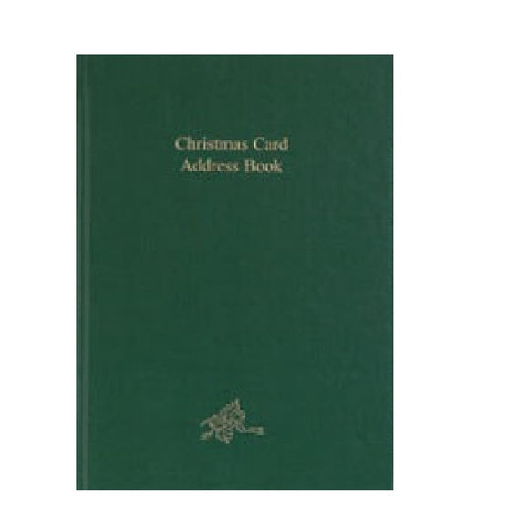 Christmas Card Address Book Dataday CC54B