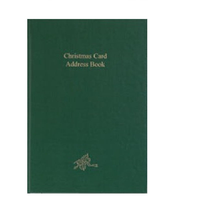 CC86B CHRISTMAS CARD ADDRESS BOOK