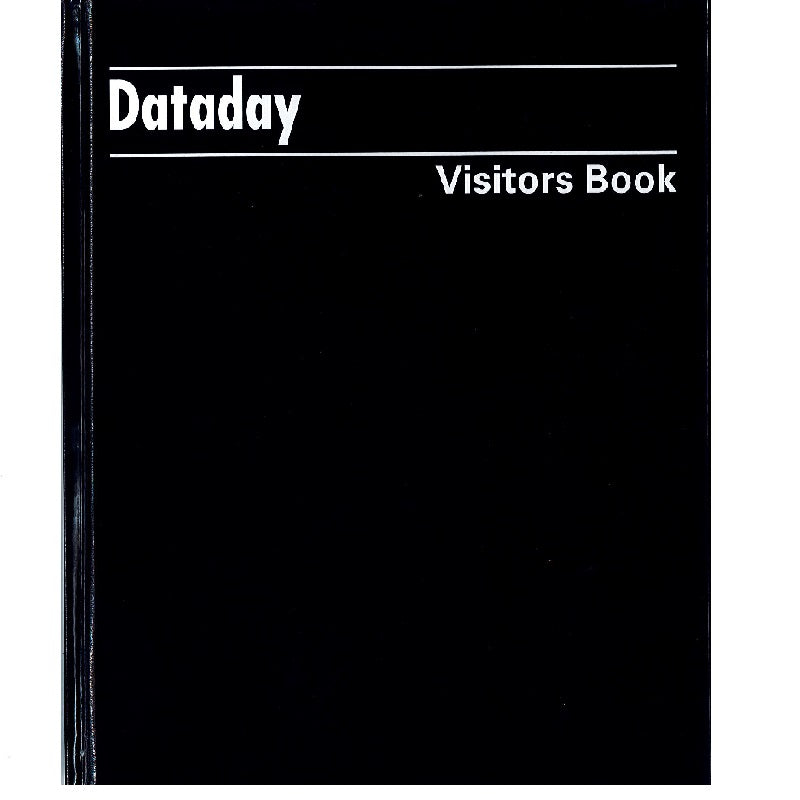 Visitors Book Dataday CV108
