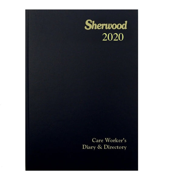 YEAR 2020 CODE N Care Worker's Diary & Directory A5 Week to View