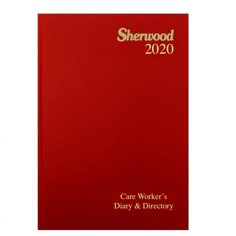 YEAR 2020 CODE N Care Worker's Diary & Directory A5 Week to View PRE ORDER