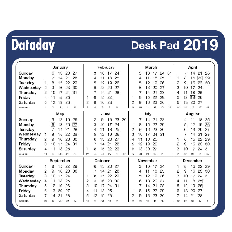 ESSENTIAL YEAR TO VIEW DESK MOUSE PAD (DMP) - PRE ORDER ONLY
