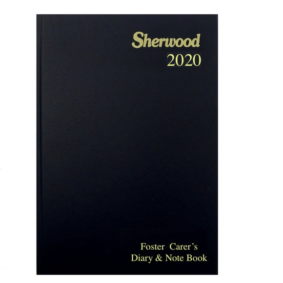 YEAR 2020 CODE L Foster Care Diary & Note Book A5 Day to Page PRE ORDER