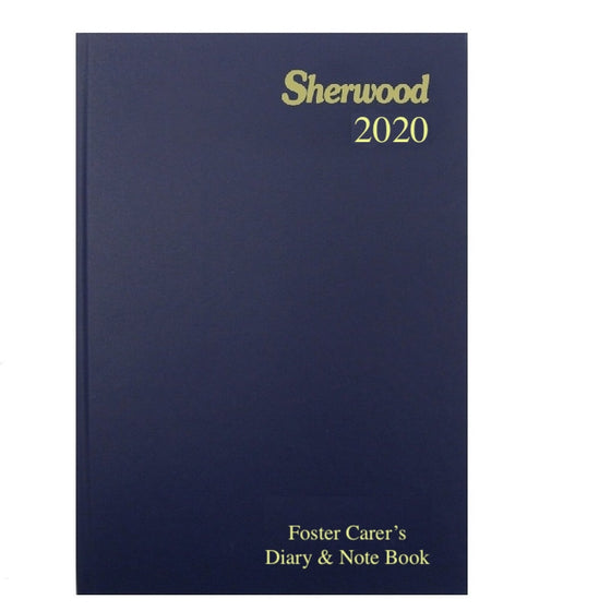 YEAR 2020 CODE L Foster Care Diary & Note A5 Day to Page PRE ODER