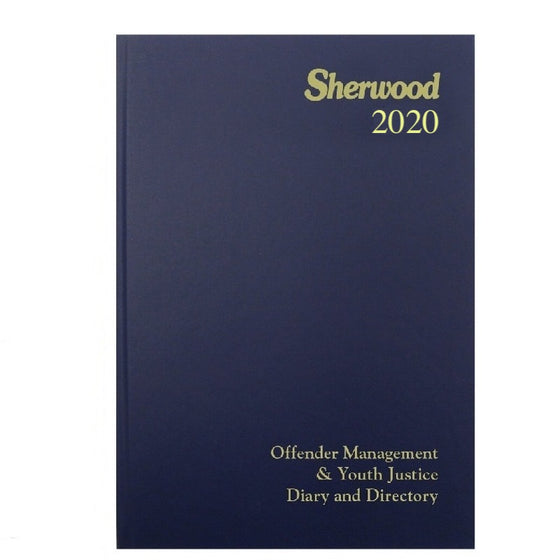 YEAR 2020 CODE H Offender Management & Youth Justice Directory  A5 Day to Page PRE ORDER