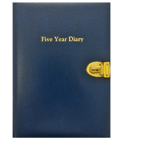 CLASSIC FIVE YEAR DIARY (FY64SC) PRE ORDER ONLY