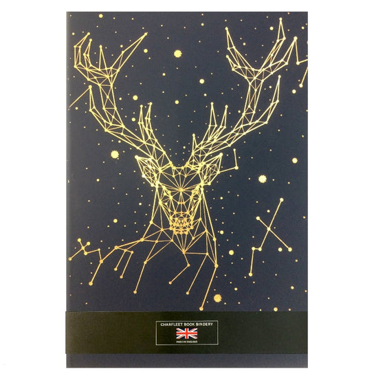 A5 STAG NOTEBOOKS -  (NB86STG-GOLD ) PRE ORDER ONLY