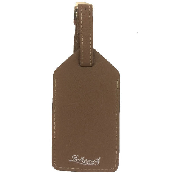 Lalt-Smooth Leather - Luggage Tag