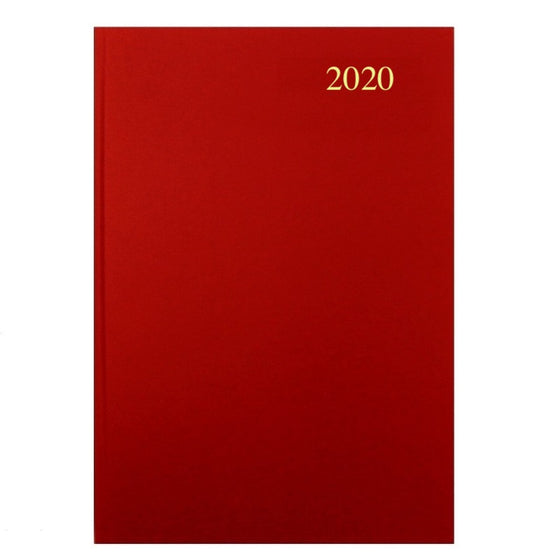 YEAR 2020 NA53 CODE C Calendar Diary – A5 Week to View