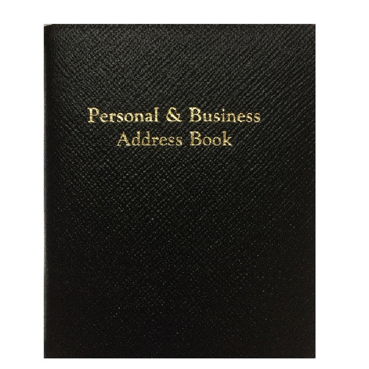 Berkeley Personal & Business Address Book Leathersmith of London PBA55R