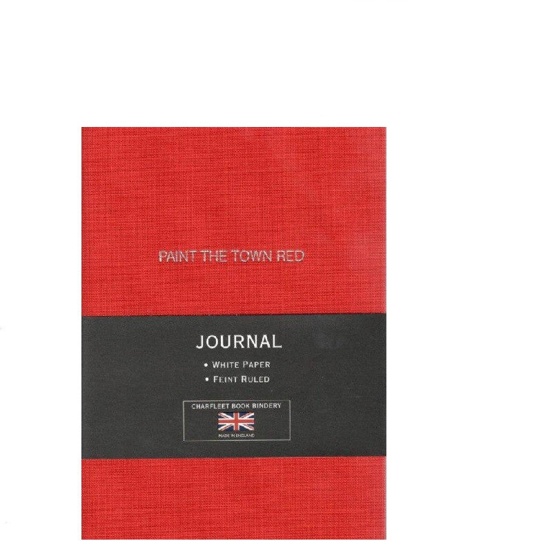NB64LIN A6 Themed Slogan Linen Notebook