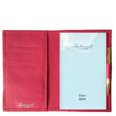 RUTLAND WALLET WITH 2017 DIARY REFILL AND GOLD PENCIL- RWRP