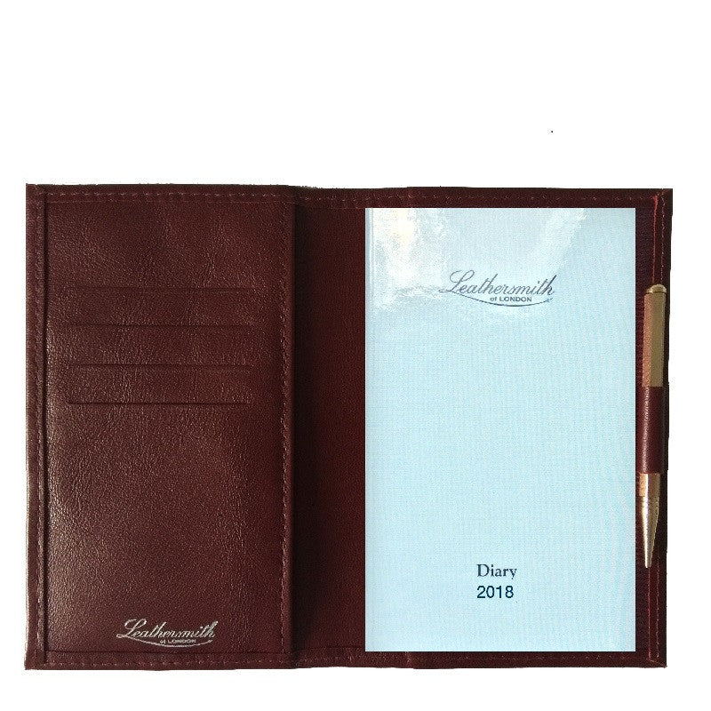 Smooth Wallet with Diary Refill & Pencil -RWRP