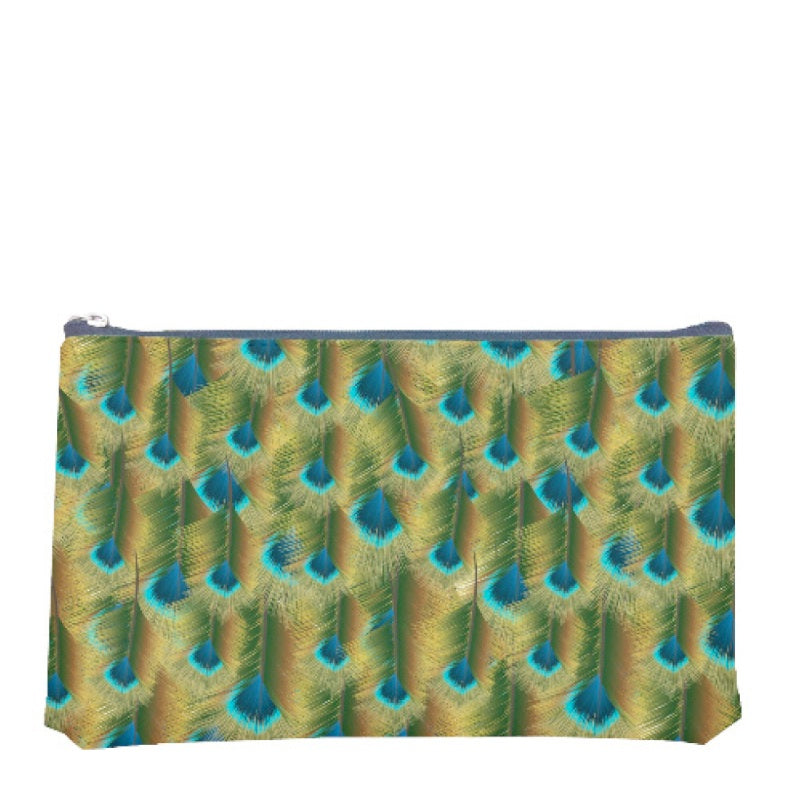 Small Peacock Pouch Charfleet Book Bindery