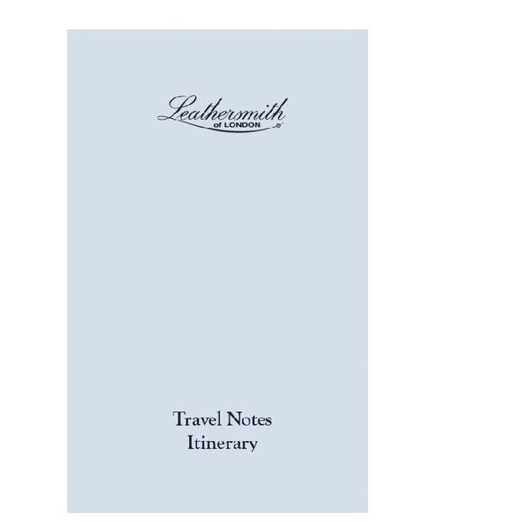 REFILLABLE INSERT - TN - TRAVEL NOTES