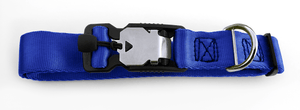 Magnetic Locking Dog Safety Collar - Blue
