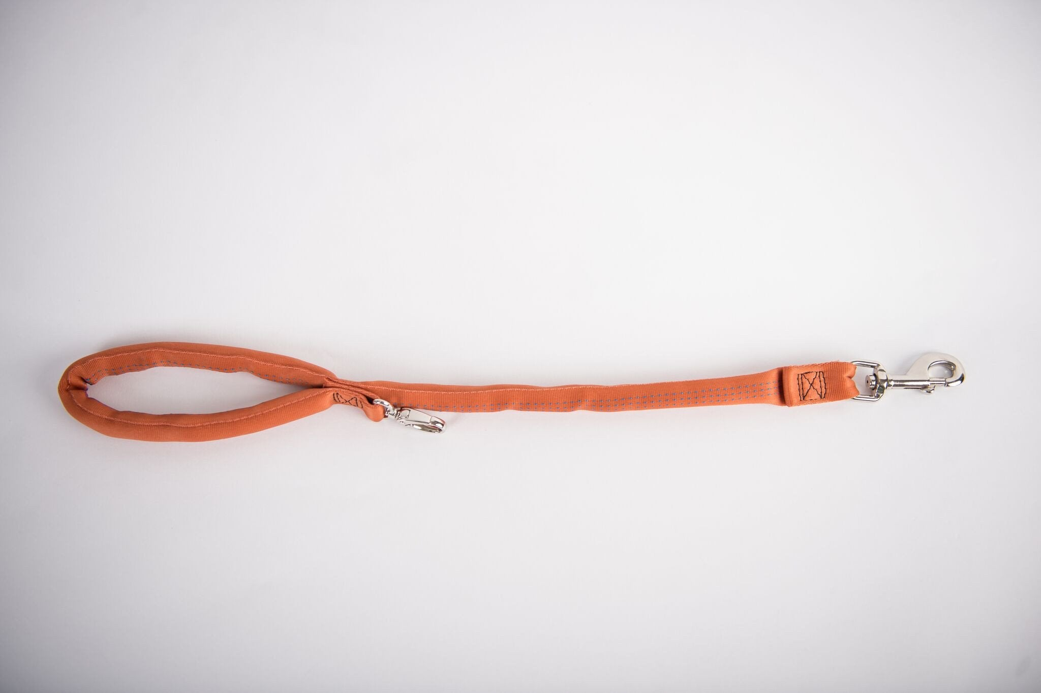 Copper-Luv My Leash, 2-6 Foot option ,Lightweight, Padded,Dual Snap, 5 Leashes in 1 ,Made in U.S.A.