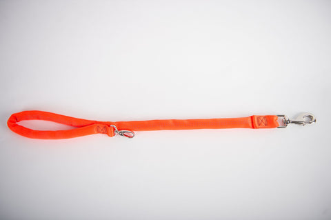 Dual Snap Leash - Orange