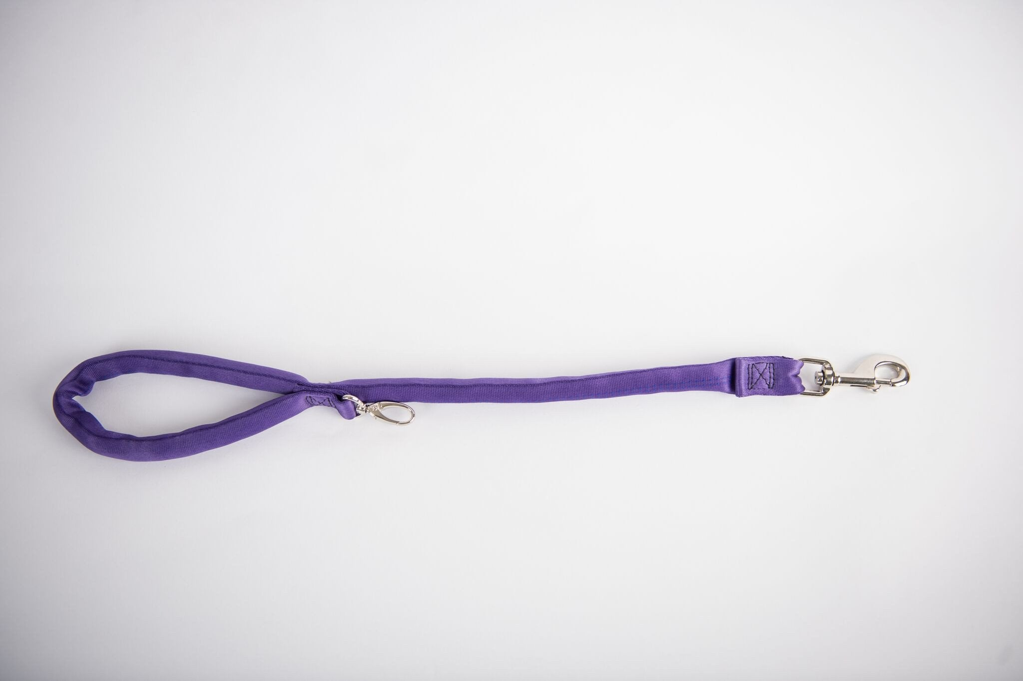 Dual Snap Leash - Purple