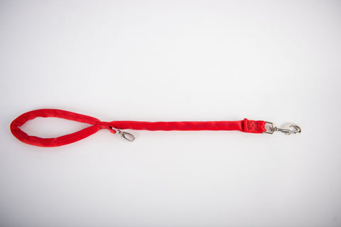 Dual Snap Leash - Red