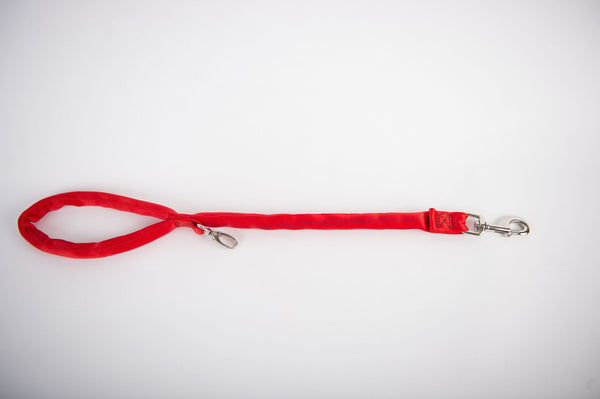 Luv My Leash- Dual Snap Leash-Padded,Dual Snap, Strong,Lightweight, Made in U.S.A.