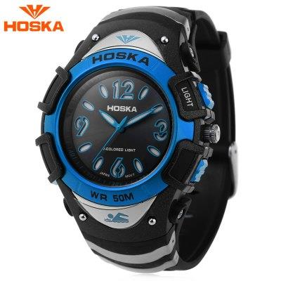 KID01-HOSKA H804B CHILDREN WRISTWATCH (BLUE)