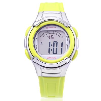 KID01-MINGRUI 8523 KIDS WATCH LED LIGHT (GREEN)