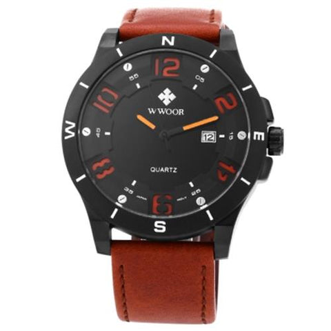 MEN04-WWOOR01 QUARTZ ORANGE