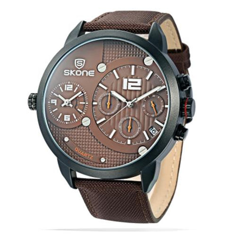 MEN04-SKONE 6164EG BROWN