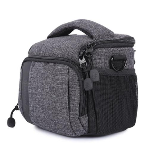 MEN03-PROWELL DSLR CAMERA PHOTOGRAPHY SHOULDER BAG (BLACK)